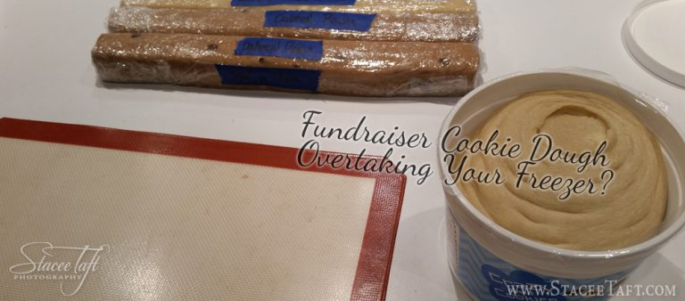 Fundraiser Cookie Dough Overtaking Your Freezer?